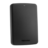Toshiba Canvio Basics 3TB 5,400 RPM SuperSpeed USB 3.0 Portable Hard Drive Black HDTB330XK3CA
