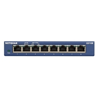 NetGear ProSafe GS108 8-Port 10/100/1000 Gigabit Ethernet Switch