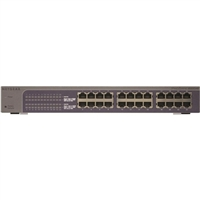 NetGear ProSafe Plus JGS524E 24-Port 10/10/1000 Gigabit Ethernet Switch