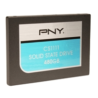"PNY CD1100 480GB SATA III 6Gb/s 2.5"" Internal Solid State Drive SSD7CS1111-480-RB"