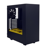 NZXT S340 ATX Computer Case - Yellow Edition