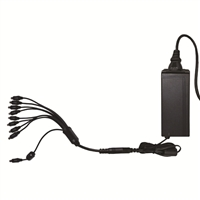 Night Owl DVR/Camera Power Adapter Combo with a 9-way power splitter