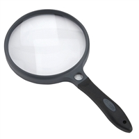 "Carson Optical SureGrip 2x Magnifier, 5"" diameter"