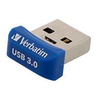 Verbatim 16GB Store 'n' Stay Nano USB 3.0 Flash Drive Blue