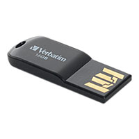 Verbatim 16GB Micro USB Flash Drive Black