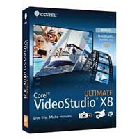 Corel VideoStudio Pro Ultimate X8 ML Mini-Box