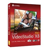 Corel VideoStudio Pro X8 ML Mini-Box