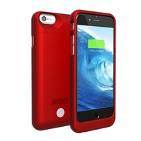 Lenmar Maven iPhone 6 Battery Powered Case - Red