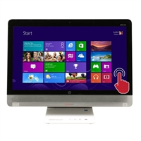 "HP ENVY 23-o014 23"" Touchscreen All-in-One Desktop Computer Recertified"