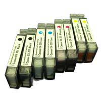 Micro Center Remanufactured Canon CLI-221 Ink Cartridge 8-Pack