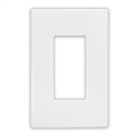 Insteon Single Wall Plate - White