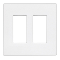 Insteon Double Wall Plate White