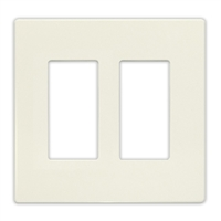 Insteon Double Wall Plate Almond