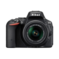 Nikon D5500 DSLR with 18-55mm VR Lens