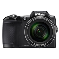 Nikon Coolpix L840 16 Megapixel Digital Camera Black