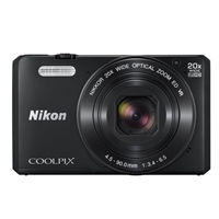 Nikon S7000 16 Megapixel Digital Camera Black