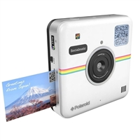 Polaroid Socialmatic Instant Print Smart Camera White