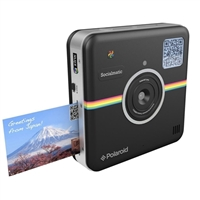 Polaroid Socialmatic Instant Print Smart Camera Black