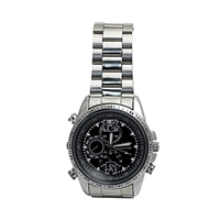 Mini Gadgets Inc. Silver Spy Camera Watch with 8GB Memory