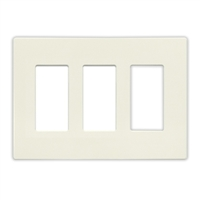 Insteon Triple Wall Plate White