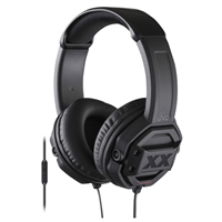 JVC Xtreme Xplosive Over-Ear Headphones - Black w/ Remote & Microphone HAMR60X