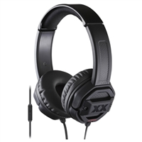 JVC Xtreme Xplosive On-Ear Headphones - Black