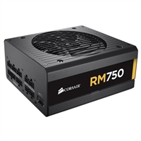 Corsair RM Series CP-9020055 750W Power Supply Black Refurbished