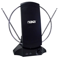 Naxa Electronics High Powered Amplified Indoor Antenna Suitable for HDTV and ATSC Digital Television