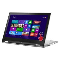 """Dell Inspiron 13 13.3"""" 2-in-1 Laptop Computer Refurbished - Silver"""