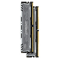 Crucial Ballistix Sport LT 16GB 2 x 8GB DDR4-2400 PC4-19200 CL16  SR Quad Channel Desktop Memory