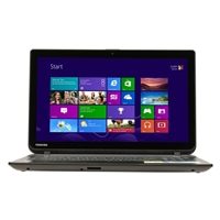 "Toshiba Satellite C55T-B5230 15.6"" Laptop Computer Refurbished - Textured Resin in Jet Black"