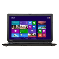 "Toshiba Satellite C55D-B5310 15.6"" Laptop Computer Refurbished - Textured Resin in Jet Black"