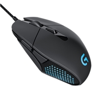 Logitech G303 Daedalus Apex Optical Gaming Mouse - Black