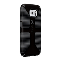 Speck Products CandyShell Grip for Samsung Galaxy S6 Edge - Black/Slate Gray