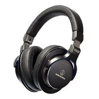 Audio Technica SonicPro Over-Ear Hi-Res Audio Headphones - Black/Blue