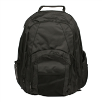 "Champion Computer Products Generic Laptop Backpack Fits Screens up to 15"" - Black"