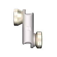 OlloClip 4-in-1 Photo Lens for iPhone 6 - Gold/White