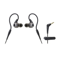 Audio Technica SonicSport In-Ear Headphones - Black