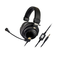 Audio Technica Premium Analog Universal Gaming Headset - Black