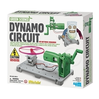 Toysmith Green Science Dynamo Circuit Board