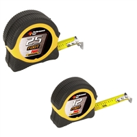 Performance Tools 25' & 12' Tape Measure Combo
