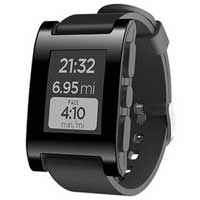 Pebble Technology Smartwatch - Black