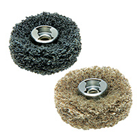 Dremel EZ Lock Finishing Abrasive Buffs 180 & 280 Grit - 2 Pack