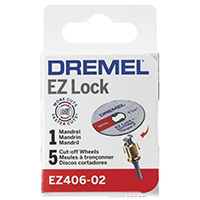 Dremel EZ Lock Starter Kit - 6 Piece