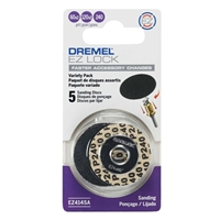 "Dremel 1-1/4"" Sanding Disc Multi Pack - 5 Piece"