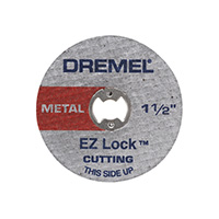 "Dremel EZ Lock 1-1/2"" Cut-off Wheels - 5 Pack"