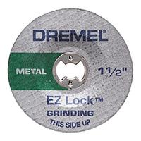 "Dremel 1-1/2"" Grinding Wheel - 2 Pack"