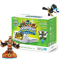 Nintendo Wii U Console Ltd. Edition Skylanders SWAP Force Basic Set.