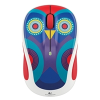 Logitech M325c Wireless Optical Mouse - Olivia Owl