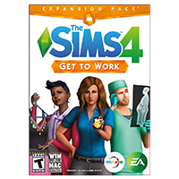 Electronic Arts Sims 4 Get to Work (PC/Mac)